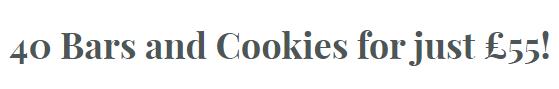 40个代餐棒/饼干