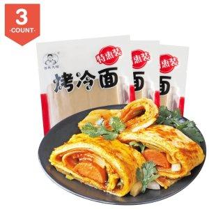 8.8折 3包只要$12.29独家:吉朱大福 网红正宗东北烤冷面 种草评价都说超好吃