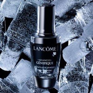 满$75送10件价值超$174的超值好礼Lancome 美妆护肤品热卖 入粉水,小黑瓶