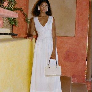 低至3折 缎面裙$129Mytheresa 美裙热卖,Ganni、Staud、Self-Portrait等连衣裙$100+