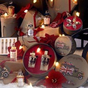 6.8折起+返$30、送好礼近期好价:潘海利根 圣诞限定香氛2件套 get英伦奢华贵族风