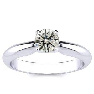 SuperJeweler1/2克拉钻石戒指