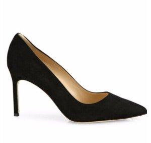 Manolo Blahnik BB 麂皮高跟鞋