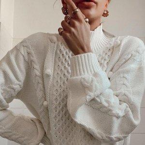 额外7折 剪裁T恤$48Belle&Bloom 美衣闪促 春季新款连衣裙$111、超显腿长的牛仔裤$104