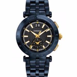 $499 VERSACE V-Race- Black Dial/ Kaki Dial/ Blue Dia lwatches