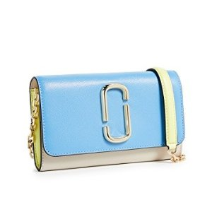 Marc Jacobs Snapshot Wallet on Chain @ shopbop.com