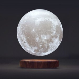 Levitating Moon Lamp @ The Apollo Box