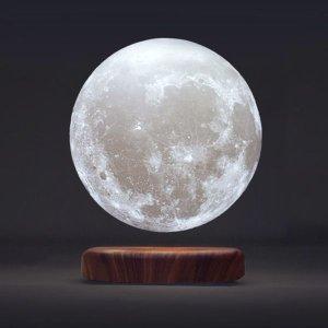 只要€129.99 把月亮带回家VGAzer 超神奇创意磁悬浮3D打印月球灯 酷就完了