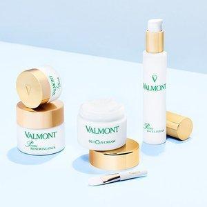 满减€6+满赠面膜+免邮中国补货:Valmont 法尔曼 精选护肤8折热卖中