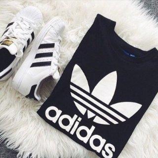 额外8折adidas潮鞋潮服折上折 金标贝壳头$31