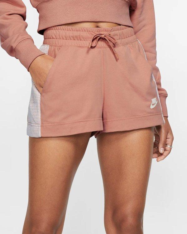 女款运动短裤