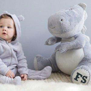 9折优惠 快收超萌大象、小熊、邦尼兔毛绒玩具My 1st Years官网 儿童玩具、收纳等全新上架特卖