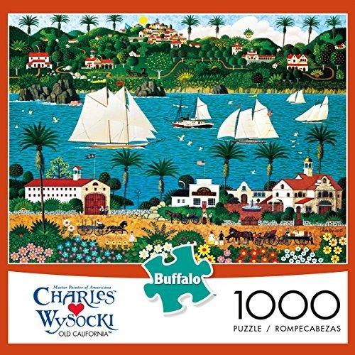 1000片旧日加州拼图