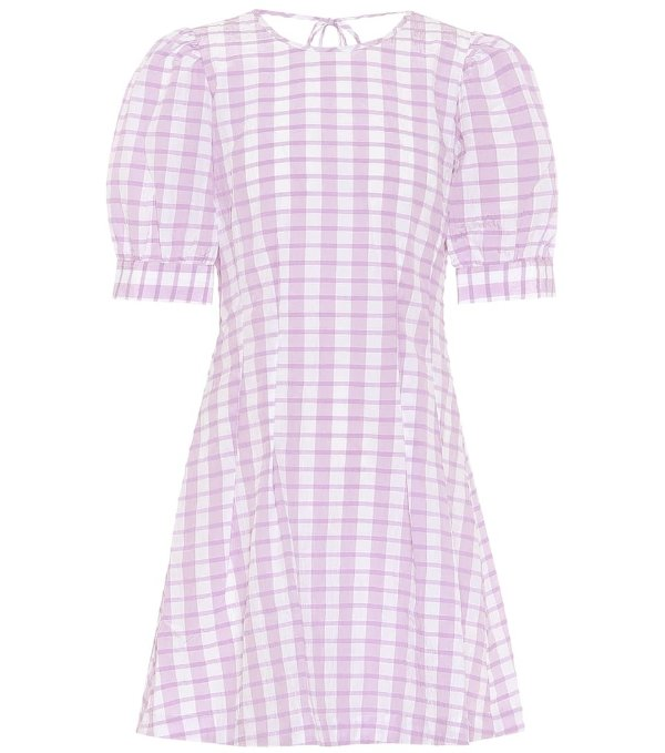 Aurelia格纹裙
