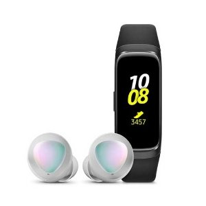 Samsung Galaxy Fit 手环 + Galaxy Buds 真无线耳机