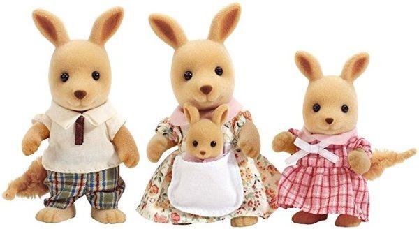 Hopper 可爱袋鼠一家人