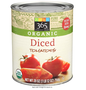 Amazon.com : 365 Everyday Value, Organic Diced Tomatoes, 28 oz