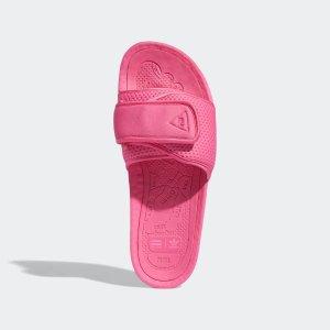 $130包邮 黄金码秒gone上新:Pharrell Williams × adidas Originals 菲董联名BOOST彩拖