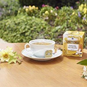 低至5折 收果茶、绿茶Twinings 官网春季大促 多款礼品套装参与
