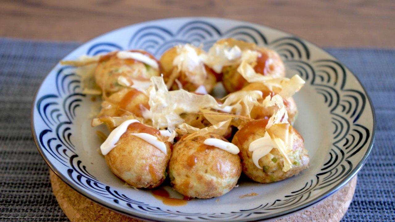 自家制 | 很好玩,很好吃的 Takoyaki