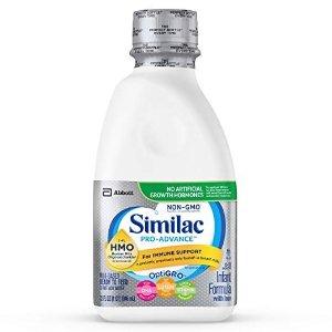 $26.09 刷新史低白菜价:Similac Pro-Advance 非转基因婴儿液体奶,946ml/瓶,6瓶