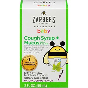 From $5.59Zarbee's Naturals Baby Cough Syrup & More @ Amazon