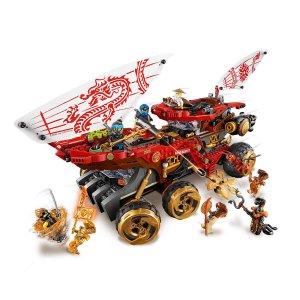 新低免邮中国¥842(国内¥1399)LEGO 乐高幻影忍者系列之封赏之地战车