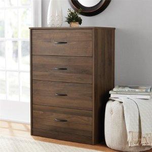 $69.99Mainstays 4-Drawer Dresser, Multiple Colors