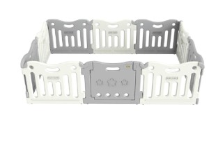 BABY CARE™ Funzone Baby Playpen in Grey