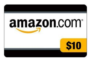 $100 Get a $10 credit for reloading your Amazon.com Gift Card Balance with $100 or more
