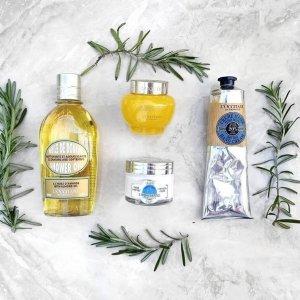 20% OffEnding Soon: L'Occitane Beauty Sale