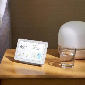 $79 体验中控灯光的智能生活Google Nest Hub 智能家居控制中心 送智能灯泡控制器