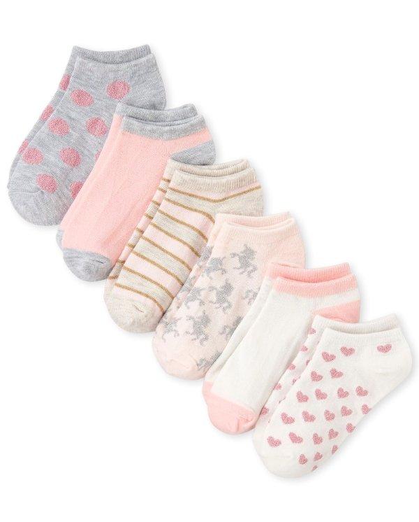 女童袜子6双