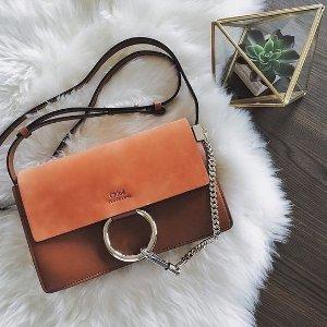 封面同款Faye低至¥3500 新款C bag有货Harrods Chloe专场 免费注册会员享9折 款式颜色最齐全
