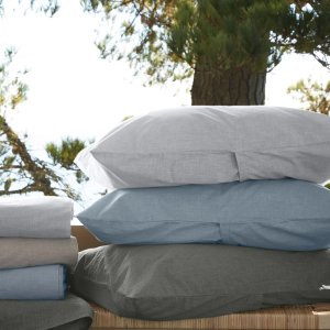 Heathered Percale Pillowcases