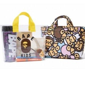 $17.7 / RMB116 直邮美国BAPE KIDS 2018合集限定 便携包包两件套 预定中