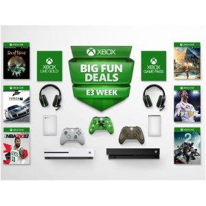 低至2.5折 $20.09收PUBGXbox One 游戏 E3大展大促销