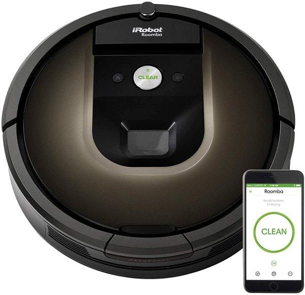 Roomba 旗舰级980 智能扫地机器人 翻新