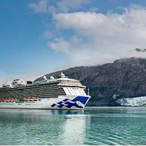 内舱票$799, 仅接待疫苗接种者公主号7天阿拉斯加冰川游 经典人气游览线路 CDC护航 游玩无忧