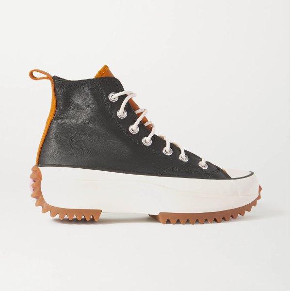 Run Star Hike 皮质厚底鞋