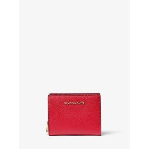Michael KorsJet Set Medium Saffiano Leather Wallet