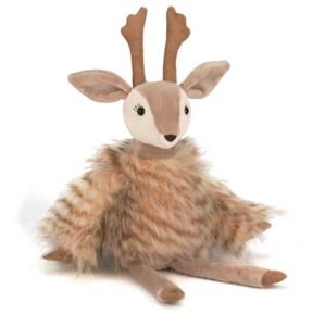 7折 封面驯鹿$35包邮 原价$50Jellycat 驯鹿、圣诞老人等玩偶优惠