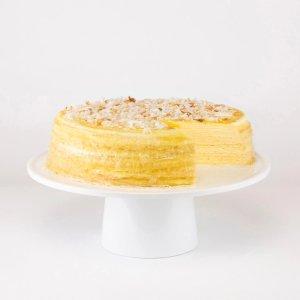 Lady M椰子千层蛋糕