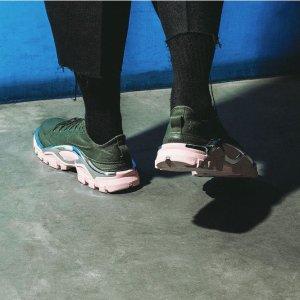 独家8.5折 超强未来感的视觉震撼Adidas x Raf Simon Dior前设计师 合作款服饰、鞋履热卖