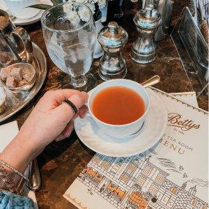 满£40享9折即将截止:Betty's官网 英国百年茶室闪促来袭 回味约克浪漫下午茶之旅