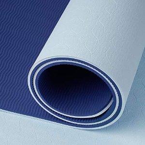 冰山蓝瑜伽垫