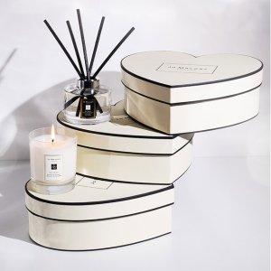 免费享少女心形礼盒包装Jo Malone 家用香氛蜡烛专场 情人节宅家更浪漫