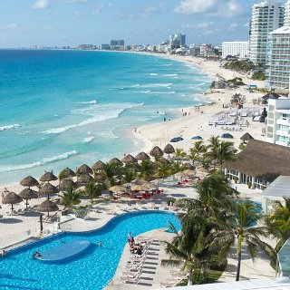 As low as $190 NonstopUs Cities to Cancun Mexico Roundtrip Airfare