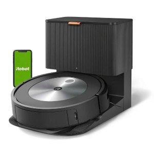 $849.99新品上市:iRobot Roomba j7+ 智能避障自倾倒扫地机器人