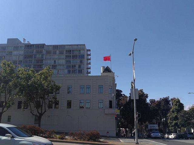 2018年5月17日,旧金山总领馆...